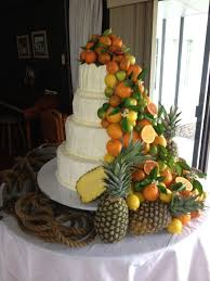 Fruit wedding Cake Toppers