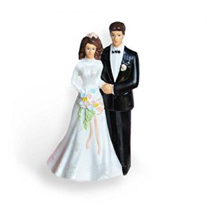 traditional wedding cake topper
