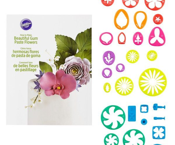 Gum Paste Flower Cutters- Creating  Edible Flowers