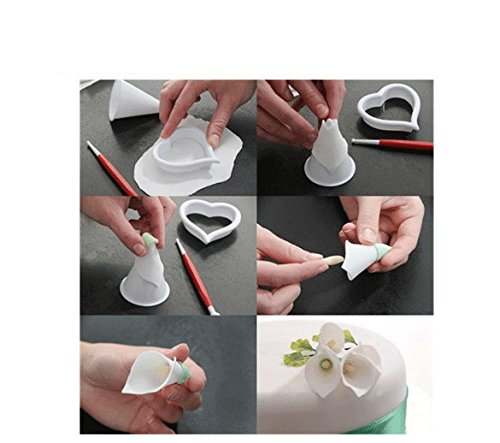 Calla lily gum paste flower cutters