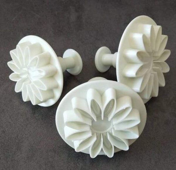 Chrysanthemum gum paste flower cutters