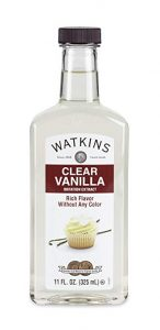 clear vanilla extract for gum paste