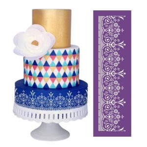colors for cake stencil