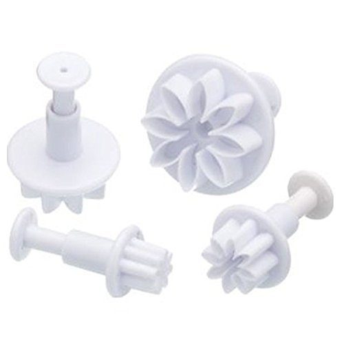 daisy gum paste flower plunger cutters