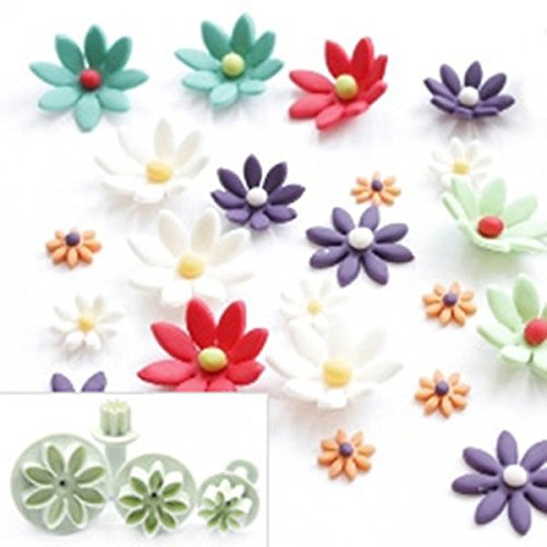 daisy gum paste flower cutters