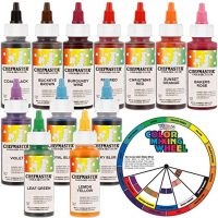 Assorted cake paints