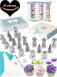 69-piece cake piping kit