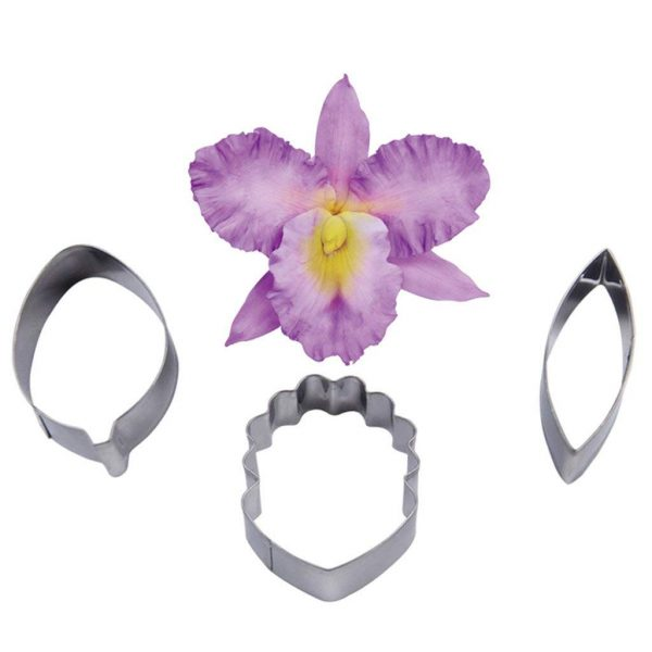 Orchid gum paste flower cutters