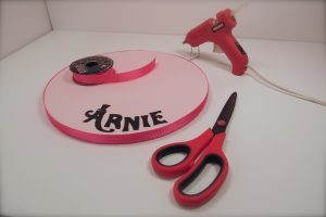 decorated cake boards