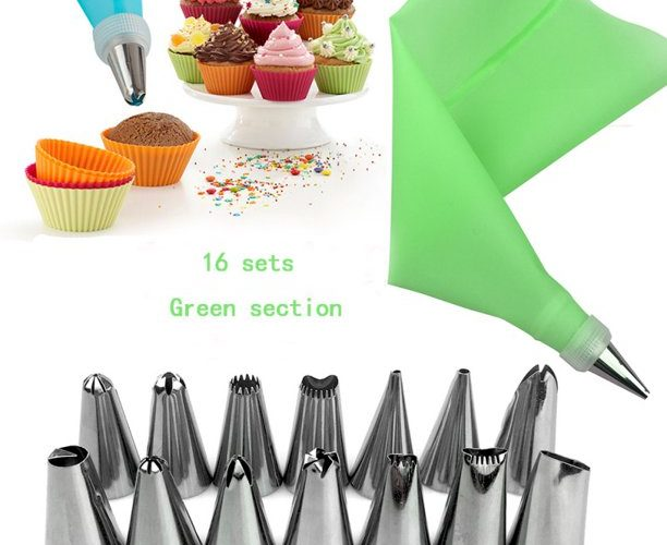 Cake Piping Bags with Tip- No Stress Piping
