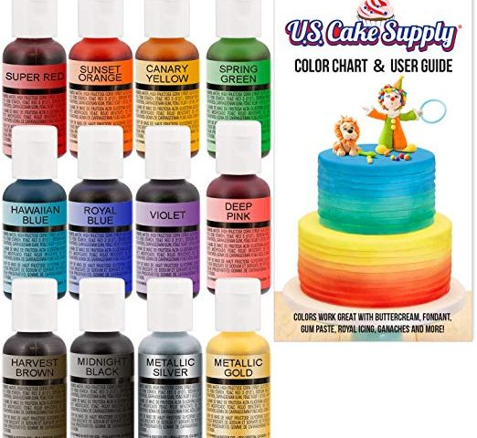 Chefmaster 12 Color Cake Airbrush Color Set– An In depth Review