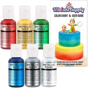 Chefmaster Cake Airbrush color set