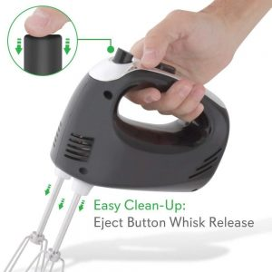 NutriChef Electric Hand Mixer