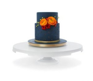 cake turntable expander with cake